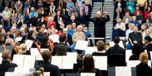 RSO performs in Seton's Chuck Mosey Memorial Gymnasium