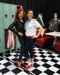 "Ginger Gray & Melissa Vance at ""Shake, Rattle, & Roll"""