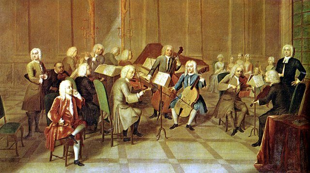 What is chamber music richmond symphony orchestra for During the baroque period