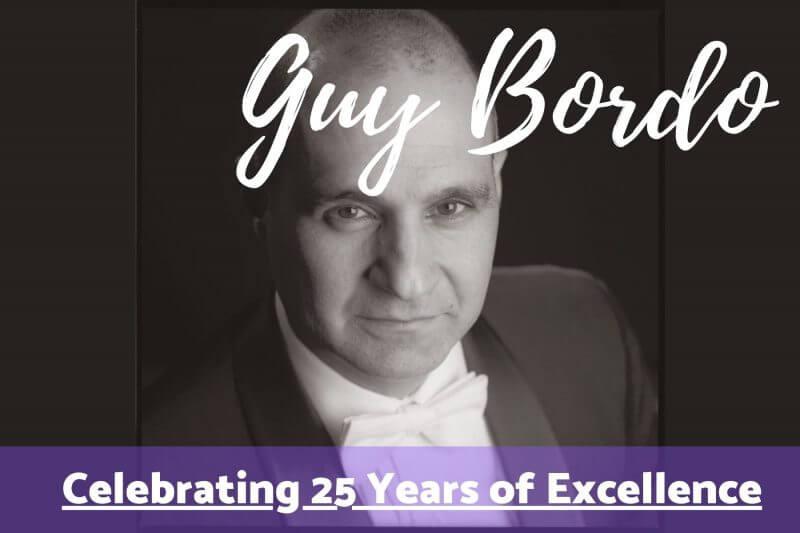 guy bordo celebrating 25 years
