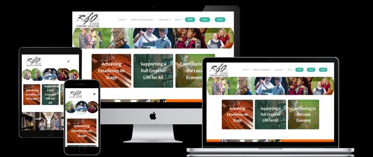 rso website designed by always relevant digital